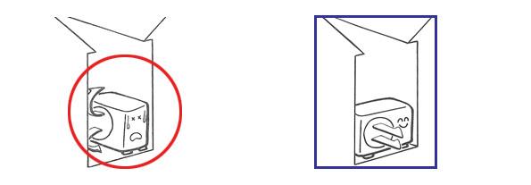 室外機安裝在牆與牆之間,易造成散熱不良,建議將室外機散熱面朝外放置即可