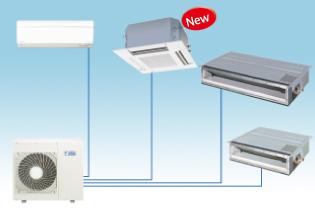 變頻冷氣機為您空調節能省大金,選擇一對多變頻分離式